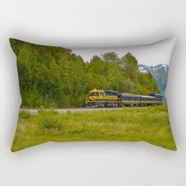 5230 - Alaska Passenger Train Rectangular Pillow