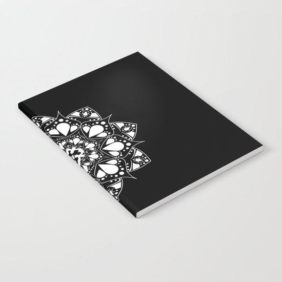 Mandala Black and White Magic Notebook