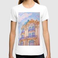 art nouveau T-shirts featuring art nouveau by Tereza Del Pilar