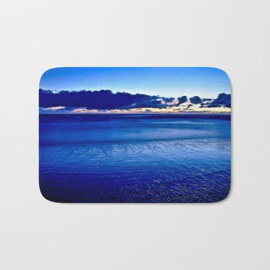 BLUE SILENCE of the SEA Bath Mat