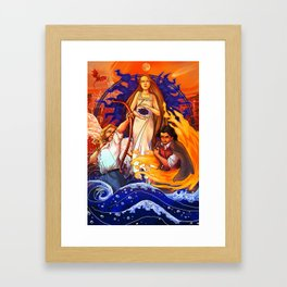 Book Cover Last Day Framed Art Print