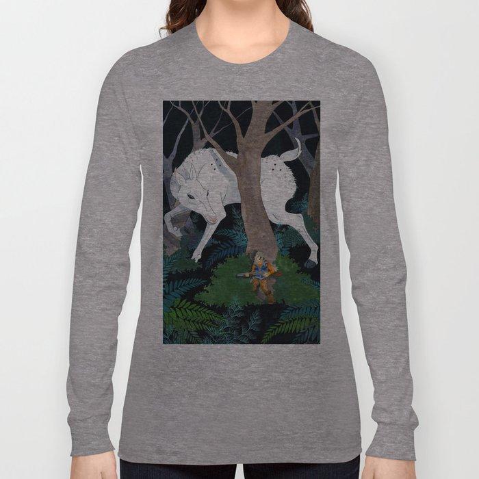 Daniel Boone's Deer Long Sleeve T-shirt