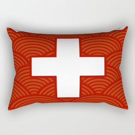 Lifeguard, Life guarding, Coast Guard, Beach , Baywatch Rectangular Pillow
