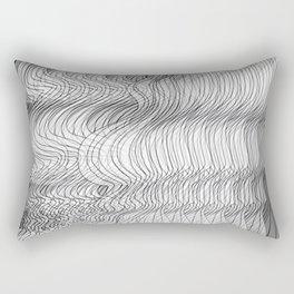 Multiplied Parallel Lines No.: 02. Rectangular Pillow