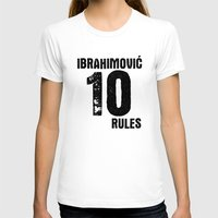zlatan T-shirts featuring Ibrahimovic 10 Rules by Lara Murasaki