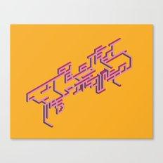 Stereo Canvas Print