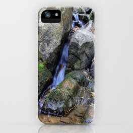 Upper Maxwell Falls in Autumn iPhone Case
