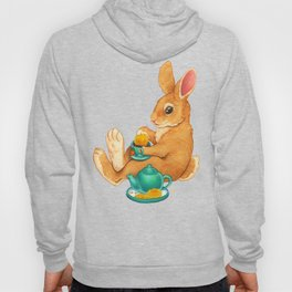 Tea Time Bunny Hoody