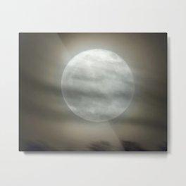 The Moon by Murray Bole Metal Print