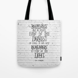 Albus Dumbledore Quote Inspirational Tote Bag