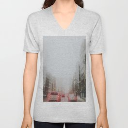 Detroit's gone missing Unisex V-Neck