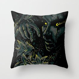 The life of the living dead Throw Pillow