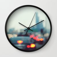 chicago Wall Clocks featuring Chicago by KimberosePhotography