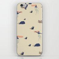 swim iPhone & iPod Skins featuring Dezert swim by .eg.