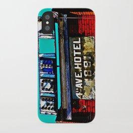 4th Avenue Hotel iPhone Case