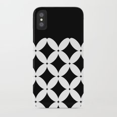 Abstract pattern - black and white. Slim Case iPhone X