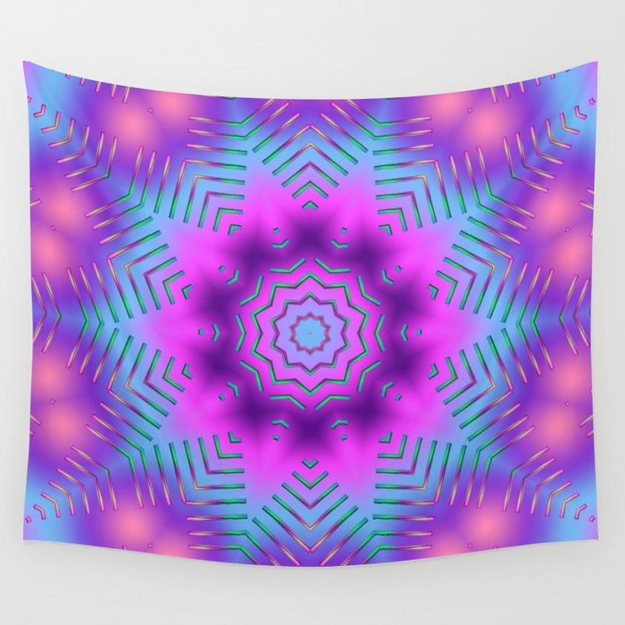 Candy Sticks Wall Tapestry