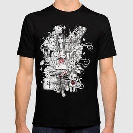 wonderland shattered T-shirt