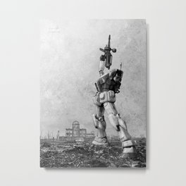 Hiroshima Last Shot Metal Print