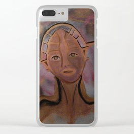 Tender Automaton Clear iPhone Case