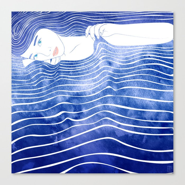 Water Nymph LXVI Canvas Print