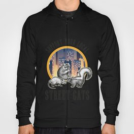 Street Cats Gift, Support Your Local Street Cat Hoody