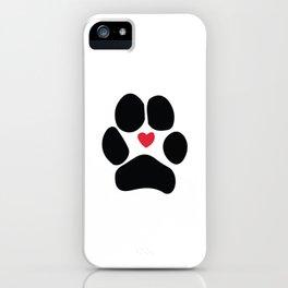 Dog Paw iPhone Case