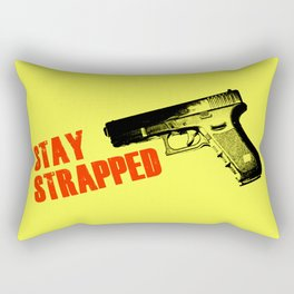 Stay Strapped Rectangular Pillow