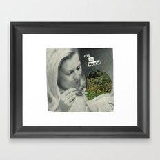 Feed The World Framed Art Print