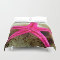 starfish Duvet Covers featuring STARFISH by habish