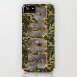 Hood Rich iPhone Case
