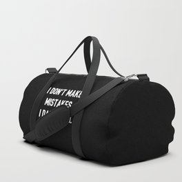 The Almost Perfect Person Duffle Bag