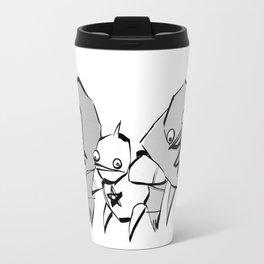 minima - slowbot 006 (clock) Travel Mug