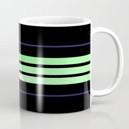 Team Colors 6...lime green,navy Coffee Mug