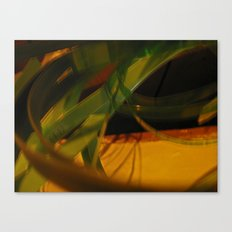 warrior in motion Canvas Print