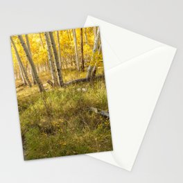 Inyo Forest in Autumn Stationery Cards