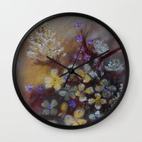 grace Wall Clocks featuring Grace by RokinRonda