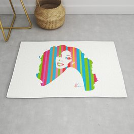 Donna Summer | Pop Art Rug