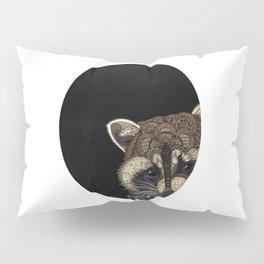 Socially Anxious Raccoon Pillow Sham