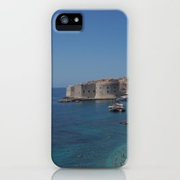 Pearl of the Adriatic Sea iPhone Case