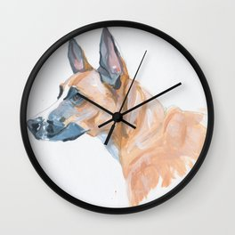 Your Dogs Mug Wall Clock