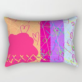 Little Missy Sunshine Rectangular Pillow