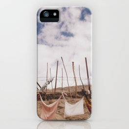 clothes-pegged  iPhone Case