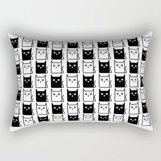 A Chess of Cats Rectangular Pillow