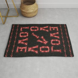 Love Box with background Rug