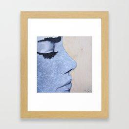 Eyelashes Framed Art Print