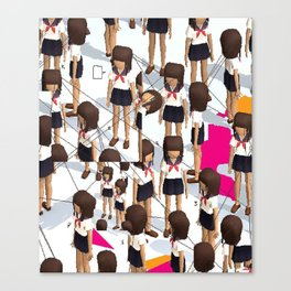 Kogal Parade Canvas Print