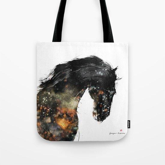 Horse portrait (Distant Galaxy) Tote Bag