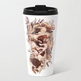 We are all connected by one thread Travel Mug