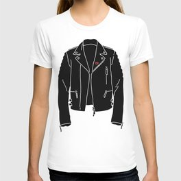 Leather Jacket - HANDSOME DEVIL'S CLUB (3/3) T-shirt